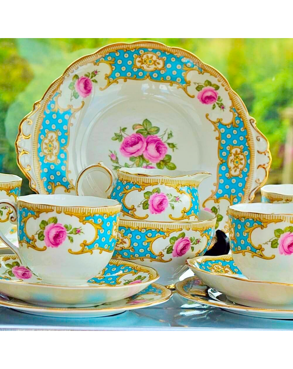 (OUT OF STOCK) ROSLYN ROSAMUND TEA SET